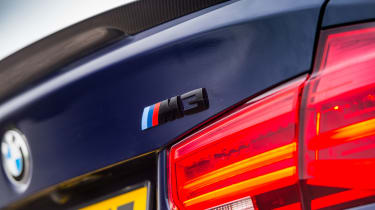 2018 model-year BMW M3 Competition Pack - Badge