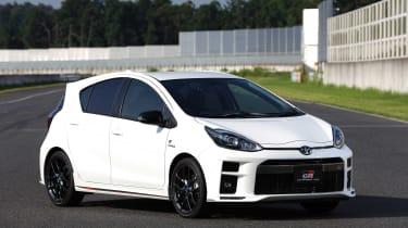 Toyota Aqua GR Sport - front quarter