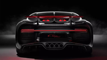 Bugatti Chiron Sport –rear wheel