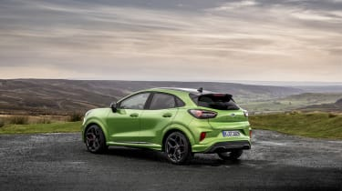 Ford Puma ST 2021 review – rear static