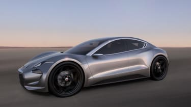 Fisker EMotion – front quarter