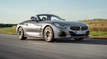 BMW Z4 M40i silver - front quarter