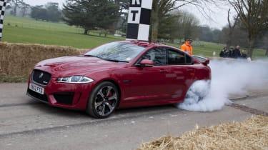 Goodwood Festival of Speed 2013 Jaguar XFR-S