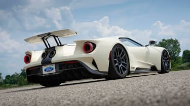 Ford GT Heritage Edition - rear static