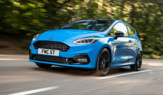 Best hot hatchbacks 2021 - Fiesta ST tracking