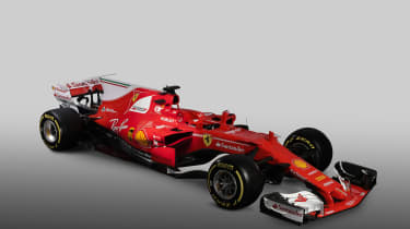 Ferrari F1 car 1