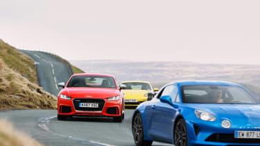 evo Supertest A110 vs rivals - road