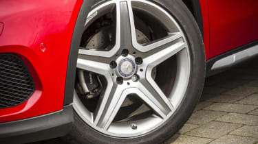 Mercedes GLA250 AMG alloy wheel