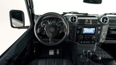 Ares Land Rover Defender - steering wheel