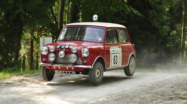 Goodwood Festival of Speed 2014 Mini Cooper S rally