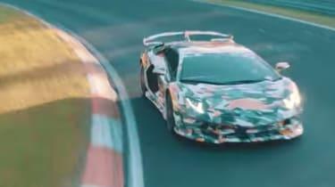 Lamborghini Aventador SV Jota - front