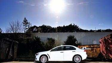 Mitsubishi Lancer Evolution X  side