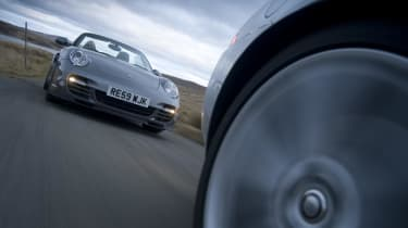 Porsche chases Jaguar