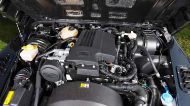 Twisted Land Rover Defender diesel engine