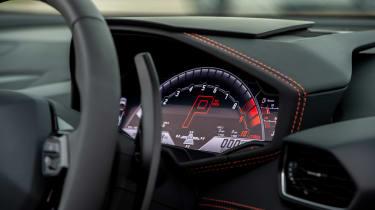 Lamborghini Huracán Evo Spyder – dials
