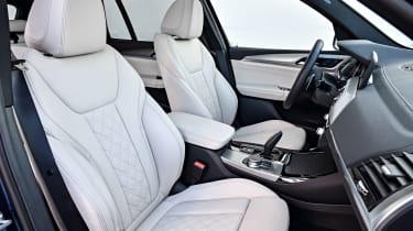 BMW X3 M40i - Seats