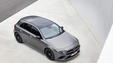Mercedes-Benz A-class front three quarter high