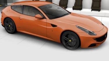 New Ferrari FF configurator