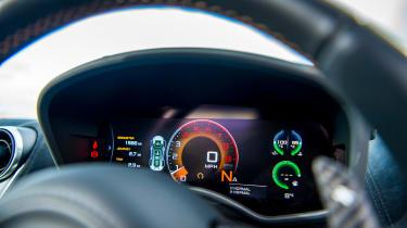 McLaren 570 GT Sportpack – digital dash