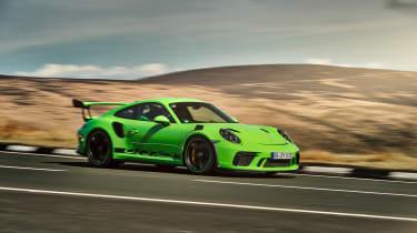 Porsche 911 GT3 RS 991.2 - panning