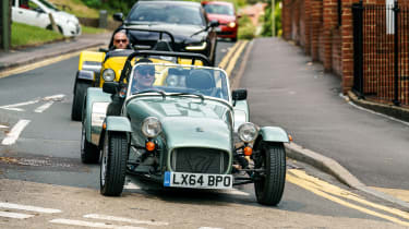 Caterham 160 and Caterham 620R