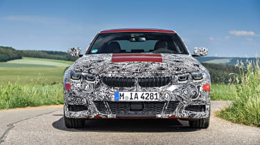 2019 BMW 3-series teaser - nose