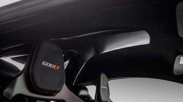 McLaren 600LT MSO - interior scoop