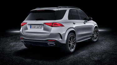 Mercedes GLE AMG-line - rear quarter