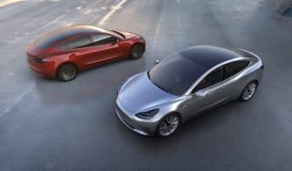 Tesla Model 3 twin