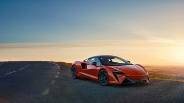 McLaren Artura revealed - orange gloss