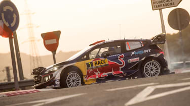 WRC Rally Catalunya - Ford front