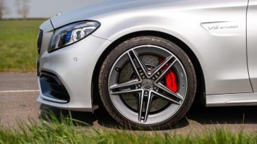 Mercedes-AMG C63 S wheel