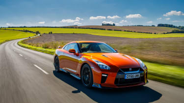 Nissan GT-R R35 2018 – front