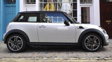 Mini Cooper Soho hatchback side profile