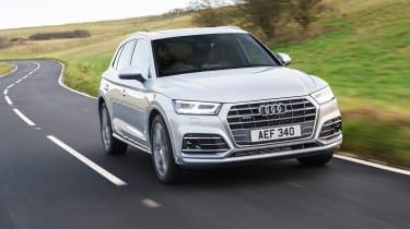 Audi Q5 S Line TFSI - front