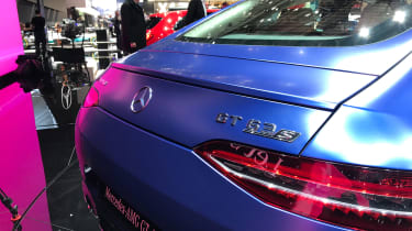 Mercedes-AMG GT 63 S - live tail