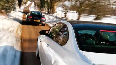 Porsche 911 Carrera group test BMW M3