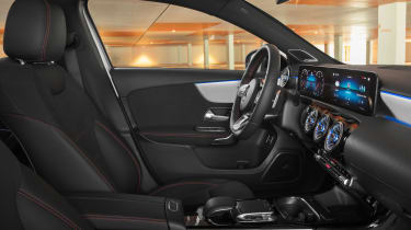Mercedes-Benz A-class saloon – interior
