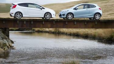 Fiesta and Mazda 2