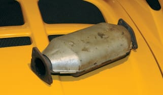 Lotus Elise S1 catalytic converter