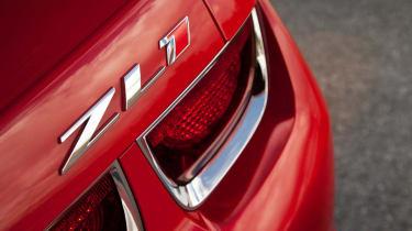 2012 Chevrolet Camaro ZL1 badge