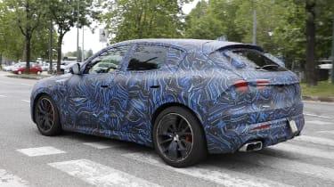 2022 Maserati Grecale Trofeo prototype – rear quarter