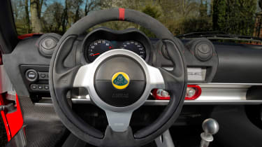 Lotus Elise Sprint steering wheel
