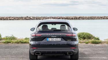 Porsche Cayenne E-Hybrid – rear