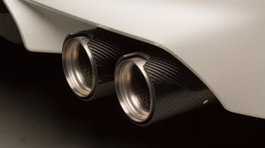 BMW M5 F90 - M Performance parts exhaust