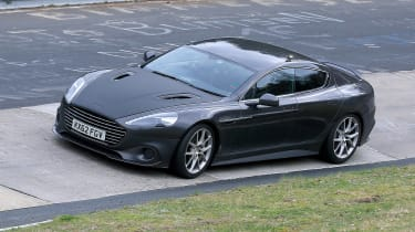 Aston Martin Rapide AMR spy - front quarter