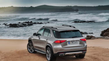new Mercedes-Benz GLE - beach