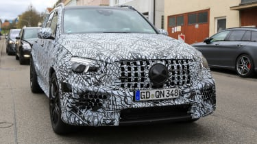 Mercedes-AMG GLE 63 prototype - front