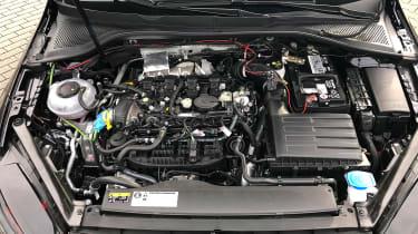 Golf Mk8 mule - engine