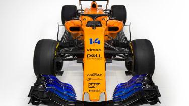 McLaren 2018 F1 car - front